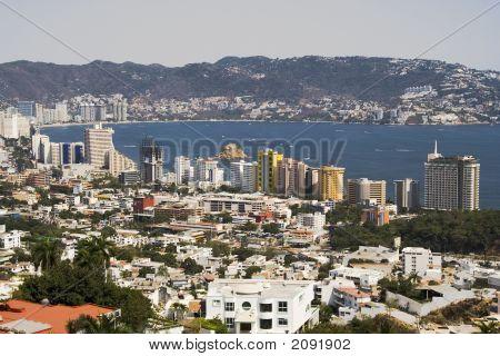 Skyline moderno Acapulco
