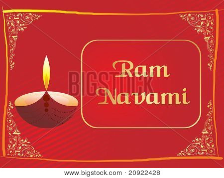 abstract panel line, lamp pattern for ram navami
