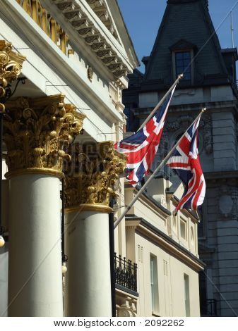 Two Pillars In London