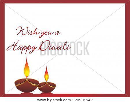 depawali background with deepak