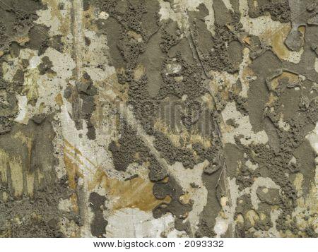 Ragged Cement muur