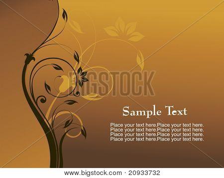 fundo artístico com lugar para texto