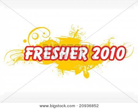 grungy wallpaper for fresher party 2010