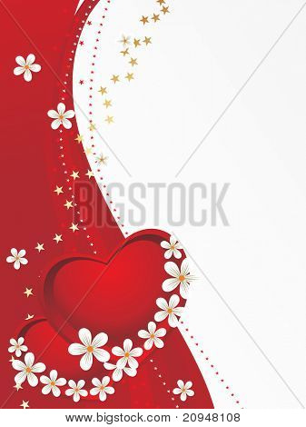 beautiful pattern romantic greeting card for valentine day