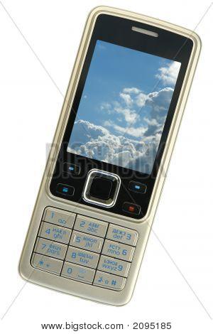 Silver Cellphone