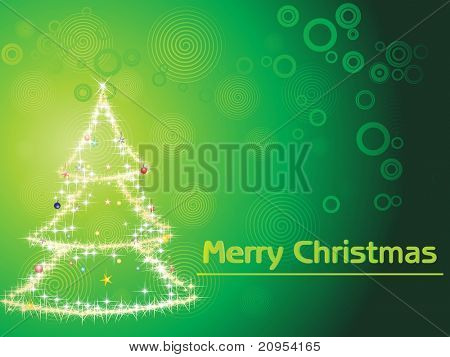 vector illustration for merry xmas day