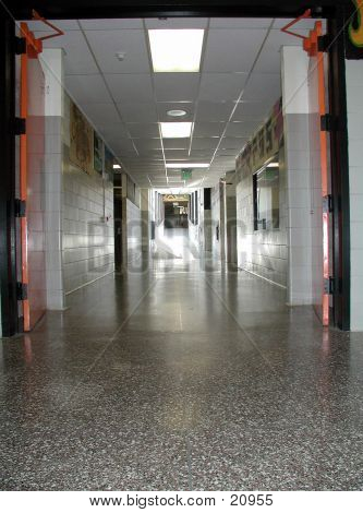 High School Hallway