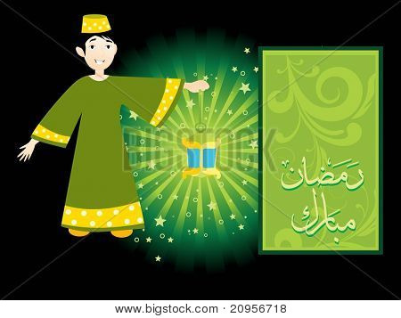 abstract pattern religious background of ramadan