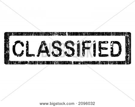 Grunge Office Stamp - Classified