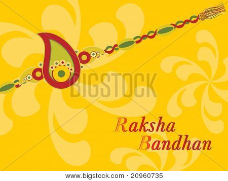 creative illustration for rakshabandhan celebration