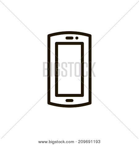 Smartphone Icon Flat Icon Single High Quality Outline Symbol Of