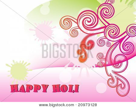 abstract colorful artwork background, vector for holi