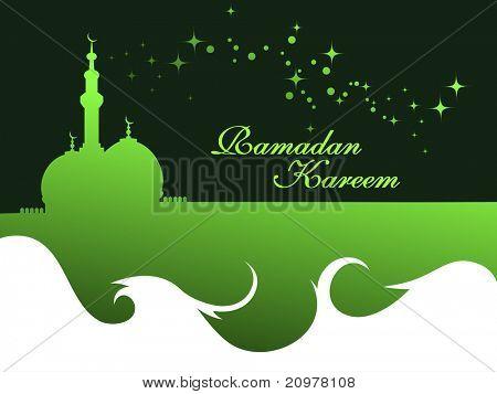 elegant concept wallpaper for ramadan kareem