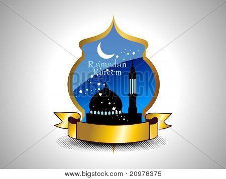 ramazan concept background, illustration