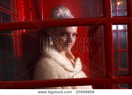 Woman in window