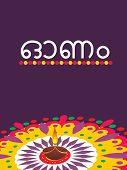 pic of pookolam  - kekasih ilustrasi Onam  - JPG