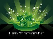 stock photo of st patrick  - beautiful illustration for happy st - JPG