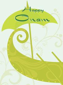picture of pookolam  - beautiful illustration for happy onam - JPG