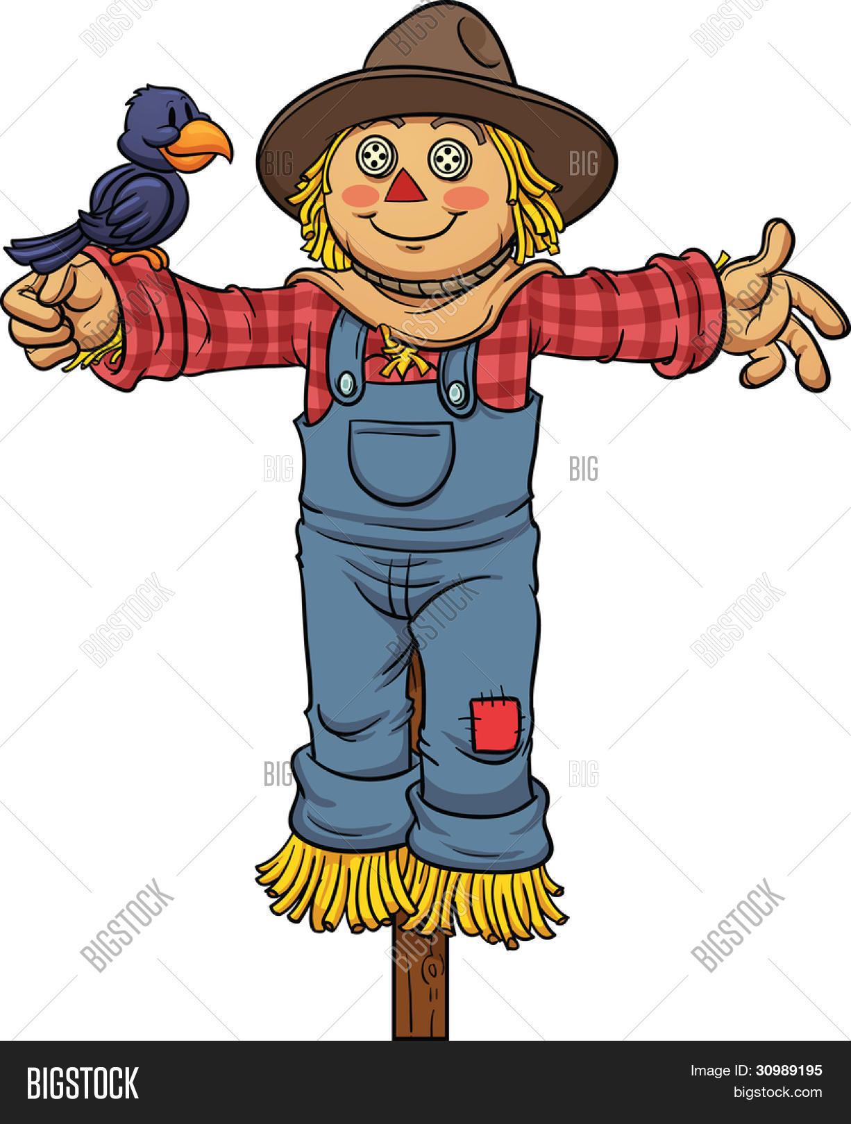 vector y foto espantap u00e1jaros de dibujos animados bigstock scarecrow clip art free scarecrow clip art free black and white