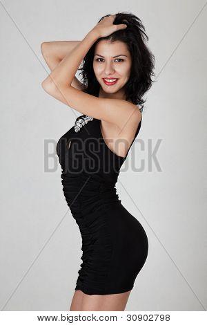 Slim Woman Posing