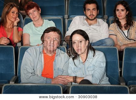 Upset Audience