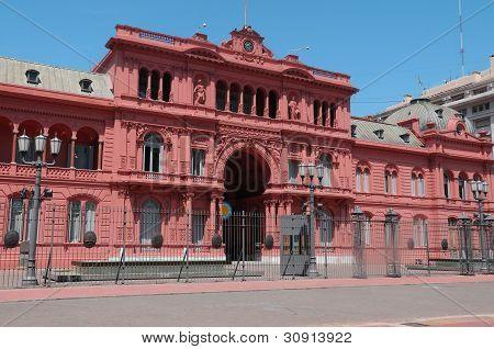 Casa Rosada (pink house) Buenos Aires Argentina