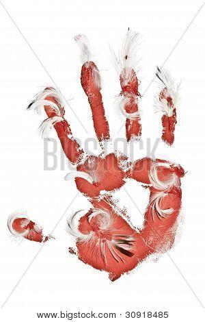 Bird Killer Hand Imprint