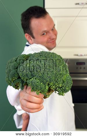 Chef And Broccoli