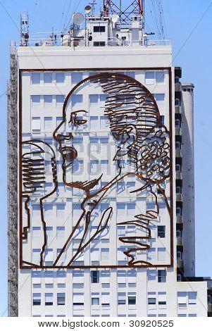 Retrato de Evita Peron