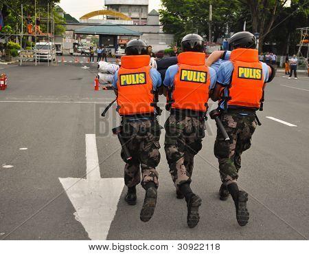 Philippine Police search & rescue training