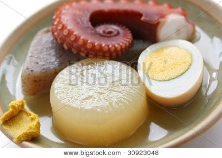 oden, japanese hotchpotch, japanese food