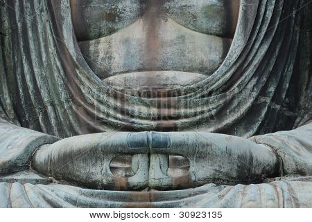 Daibutsu (Buddah) hands