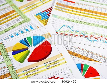 Annual Report in Charts and Diagrams