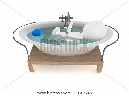 3d bathtub