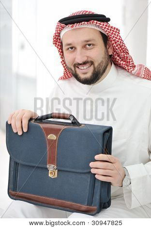 Arabic businessman