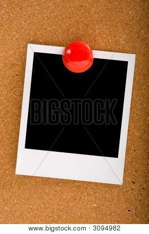 Photograph On Cork-Board
