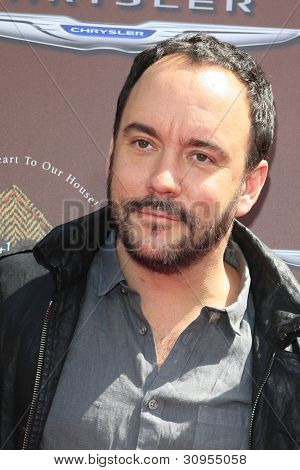 LOS ANGELES - MAR 11:  Dave Matthews arrives at the 9th Annual John Varvatos Stuart House Benefit at the John Varvatos Store on March 11, 2012 in West Hollywood, CA