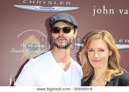 WEST HOLLYWOOD, CA - MAR 11: KaDee Strickland, Jason Behr at the 9th Annual John Varvatos Stuart House Benefit on March 11, 2012 in West Hollywood, California