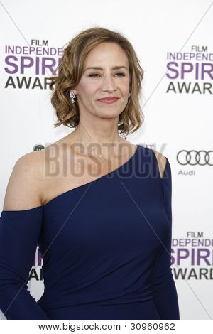 SANTA MONICA, CA - FEB 25: Janet McTeer at the 2012 Film Independent Spirit Awards on February 25, 2012 in Santa Monica, California
