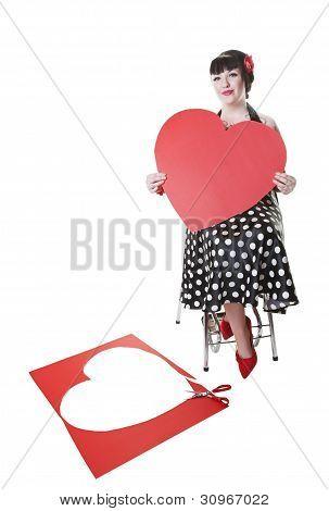 Valentine Pinup