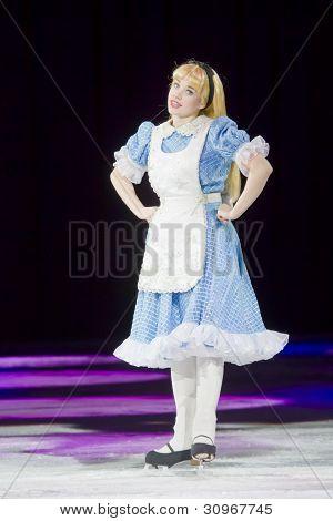 Alice In Wonderland On Skates