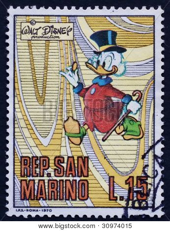 Post stamp San Marino 2