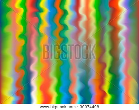 multicolor background with wavy lines