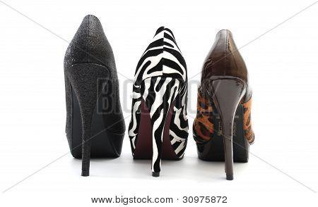 Female's high heel shoes