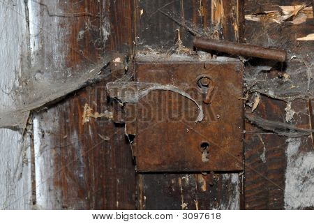 Old Metal Lock