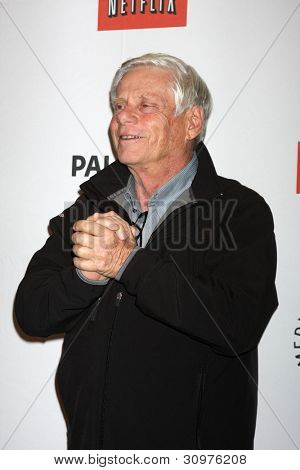 """LOS ANGELES - MAR 13:  Robert Morse arrives at the """"Mad Men"""" Event at PaleyFest 2012 at the Saban Theater on March 13, 2012 in Los Angeles, CA"""