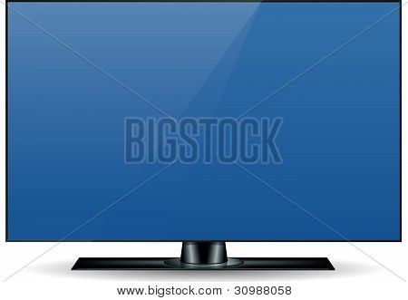 Edgeless Hd Television Set