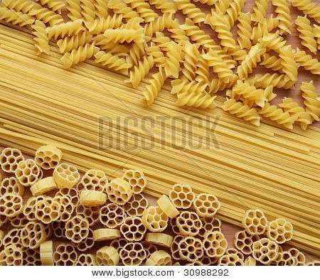 Three Kinds of Pasta