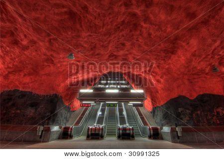 Stockholm metro, Solna