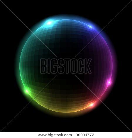 Vector Sphere Illustration